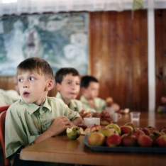 copyright: Frank Rothe | boy with apples